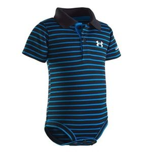 🆕Under Armour Baby Boys' Polo Shirt Bodysuit 3-6M